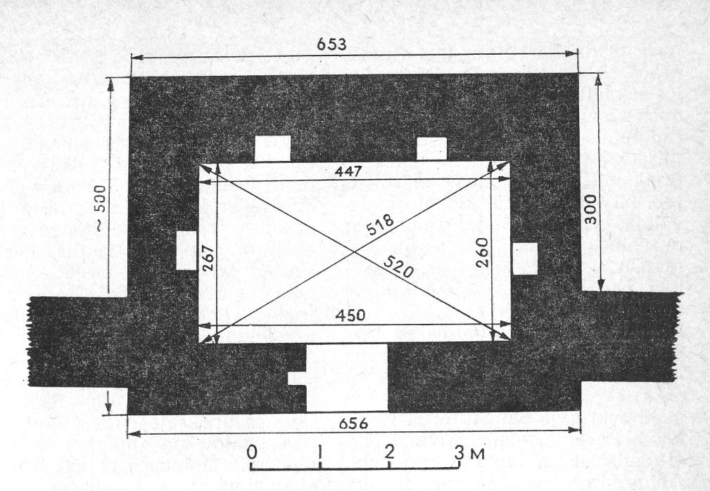 План башни Рамера.