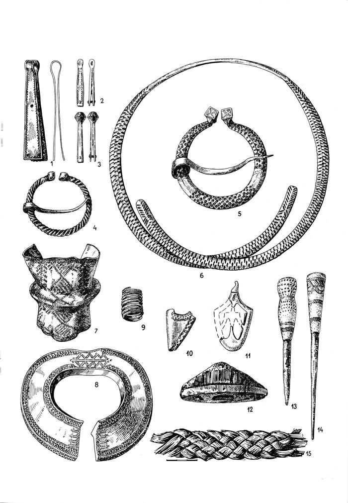 Археологические находки с территории Арайшского озерного замка.