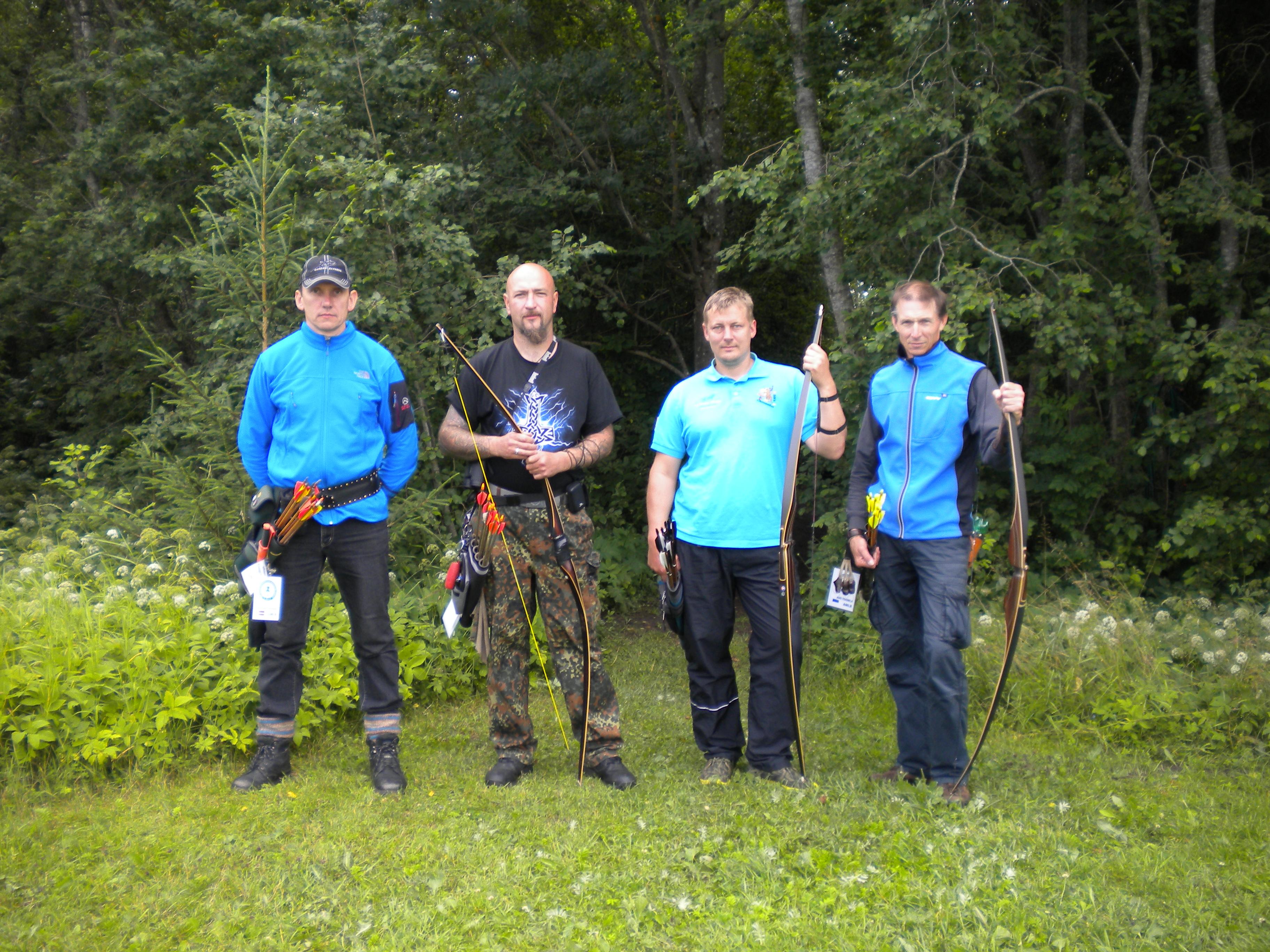 Финалисты Открытого Чемпионата Эстонии по полевой стрельбе, 2015 год