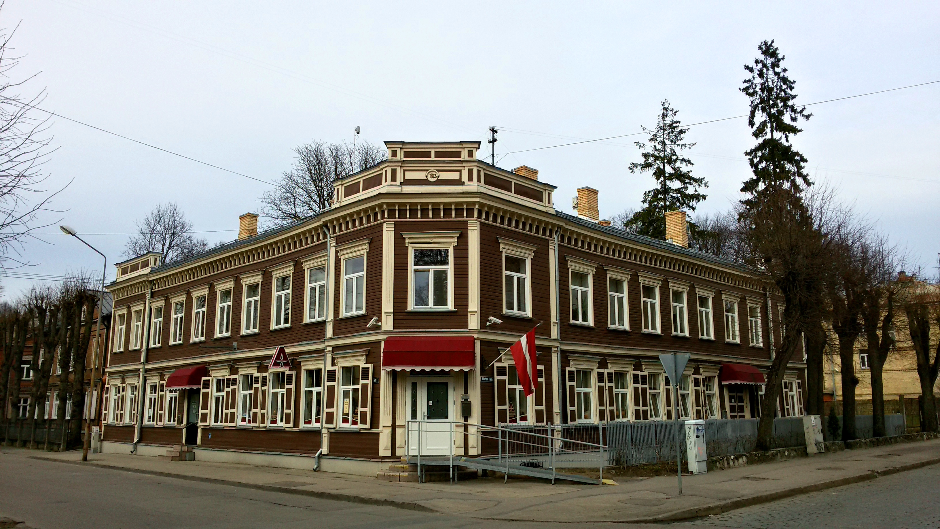 Дом по адресу Баложу 28, 1898, архитектор В. Хоффманн.