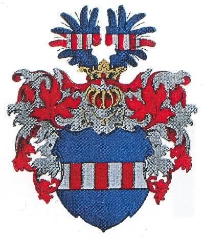 Герб рода фон дер Рекке.