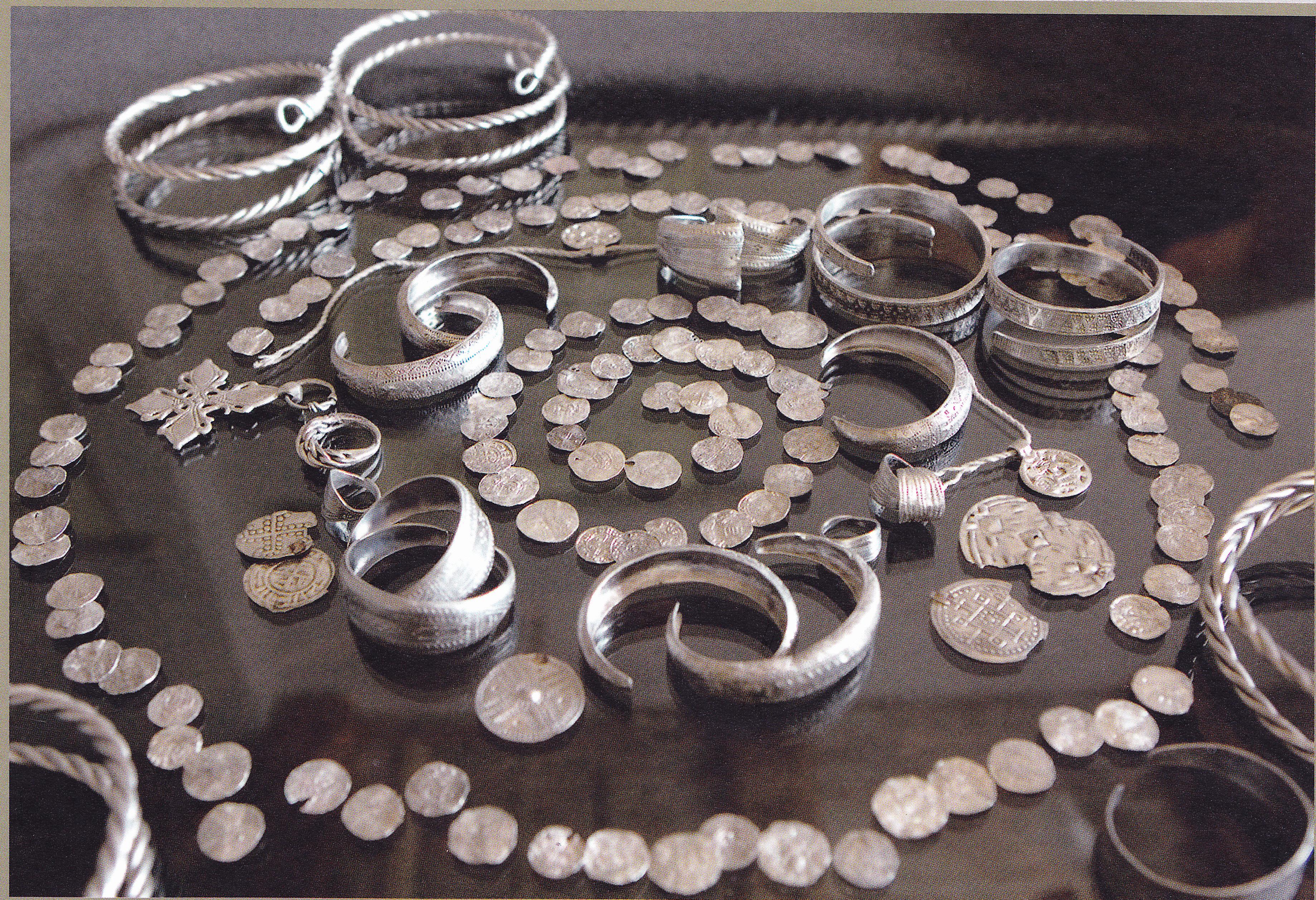 Кримулдский клад, найденный в 2007 году.